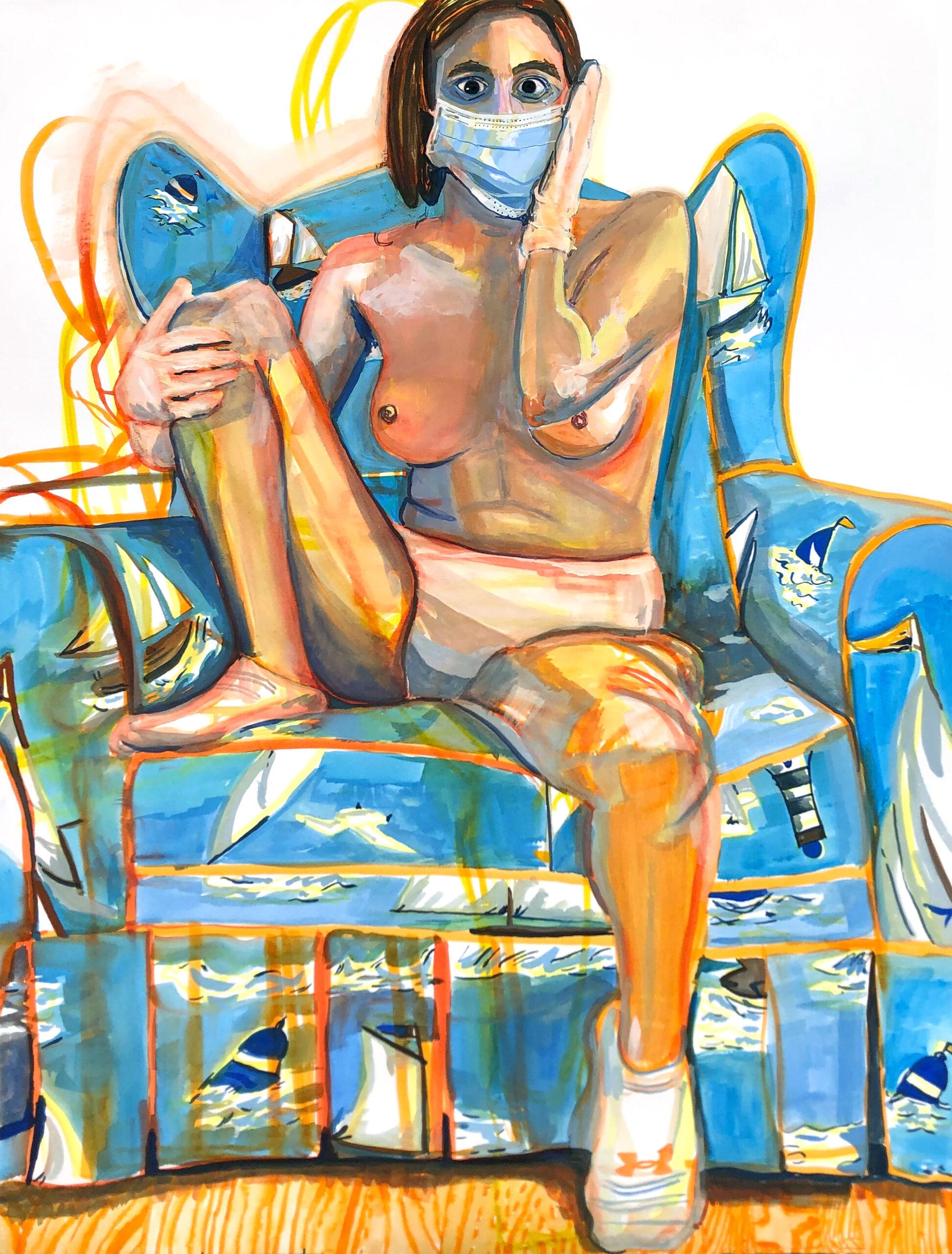 Madeline Bohrer-Artist-Alone-No Filter. A Self-Portrait Diary