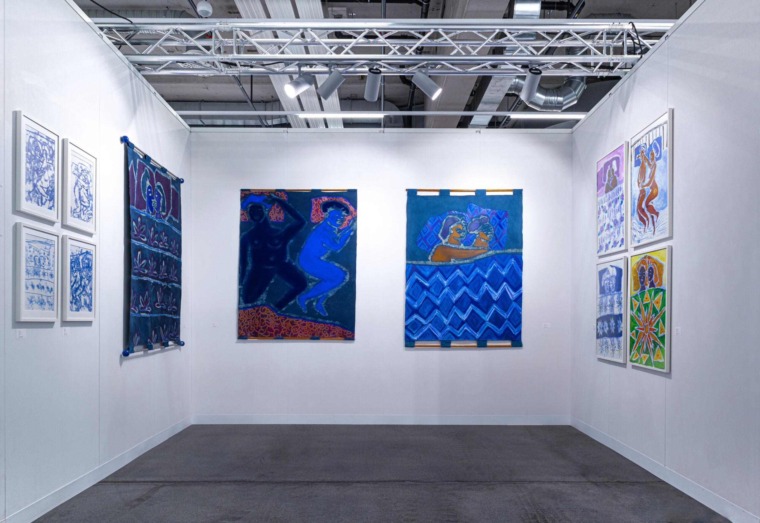Sola Olulode-VOLTA Basel-Booth Installation