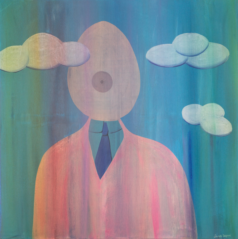 annique-delphine-The Woman of Man 2020 - Acrylic on canvas - 100 - 100 cm