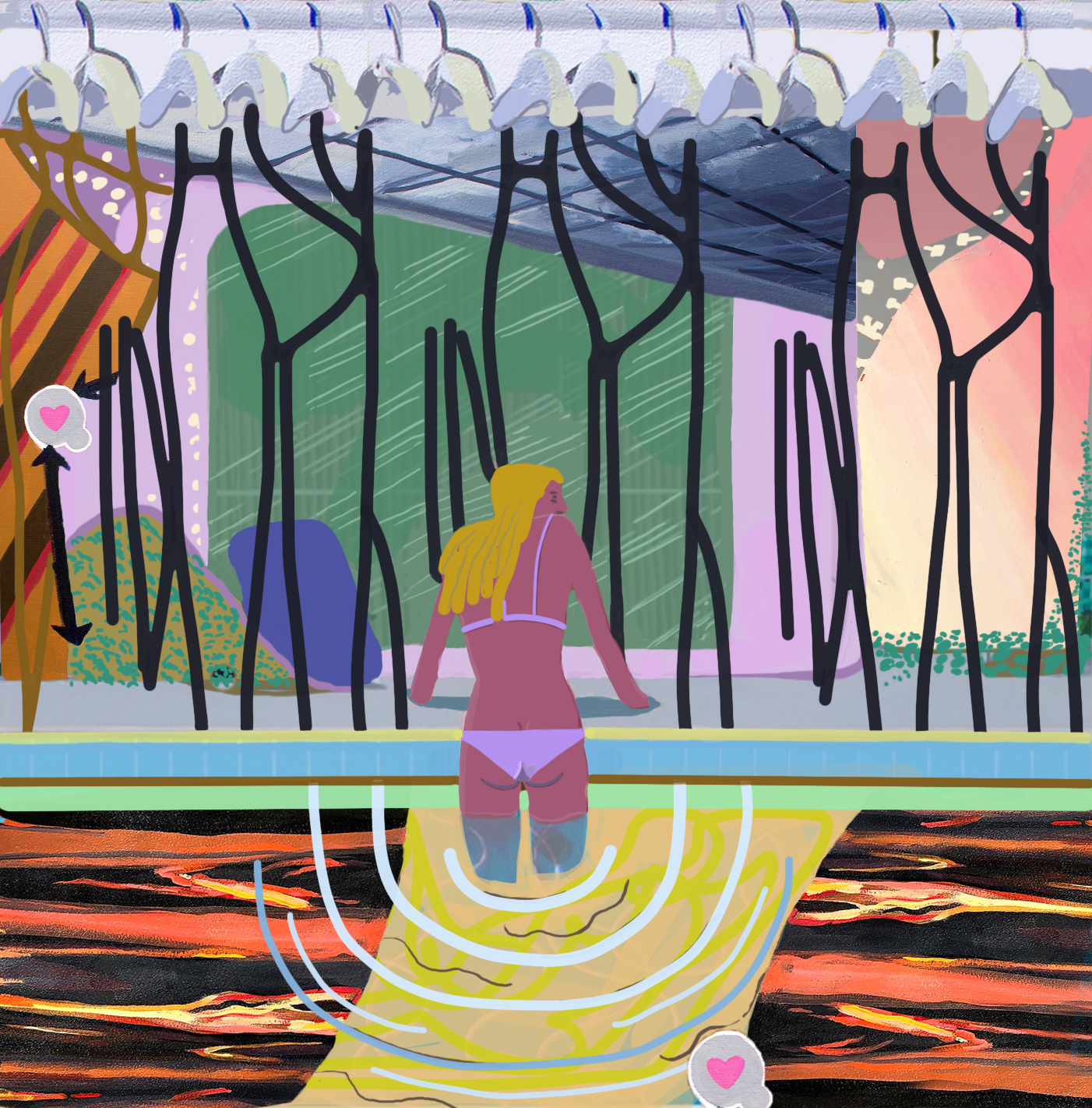 Madeline Bohrer-Artist-Getting out of the Pool-Generation Why